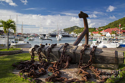 Photograph - St Barth's  by Brian Jannsen