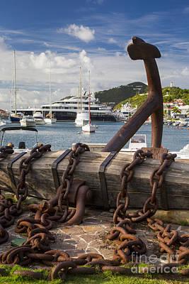 Photograph - St Barth's Harbor by Brian Jannsen
