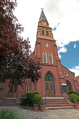 Photograph - St. Bernards Church by Paul Mangold