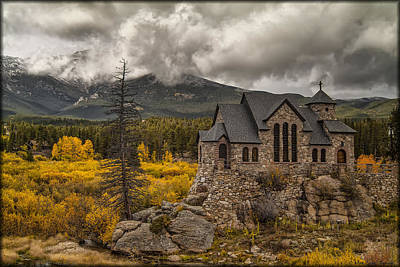 Photograph - St. Catherine Of Siena Chapel by Erika Fawcett