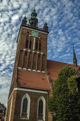 St. Catherine's Church In Gdansk Art Print by Adam Budziarek