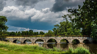 Photograph - St. Cloud Bridge by Randy Scherkenbach