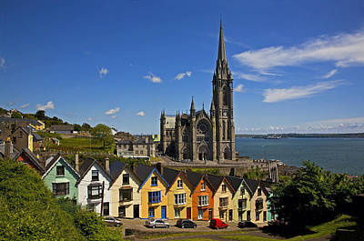 Irish Photograph - St Colmans Cathedral, Cobh, County by Panoramic Images