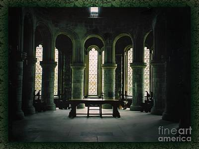 Photograph - St Conan's Kirk Windows Full View by Joan-Violet Stretch