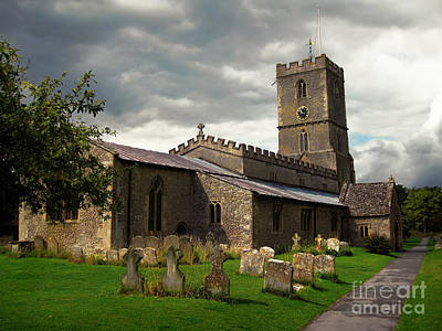 Photograph - St Denys Church In Stanford In The Vale Oxfordshire by Menega Sabidussi