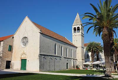 St Dominic Monastery In Trogir Print by Kiril Stanchev