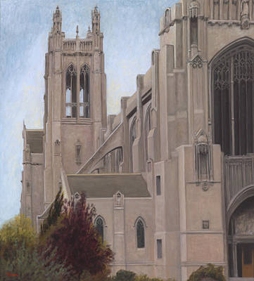St. Dominic's Cathedral Art Print by Terry Guyer