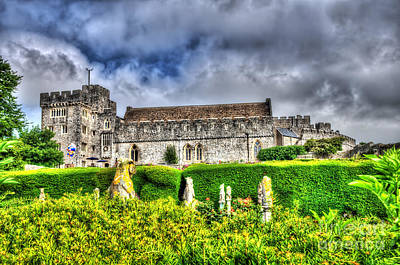 Photograph - St Donats Castle 2 by Steve Purnell
