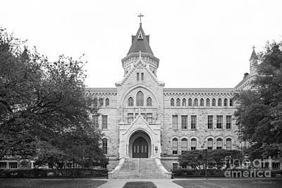 Photograph - St. Edward's University Main Building by University Icons
