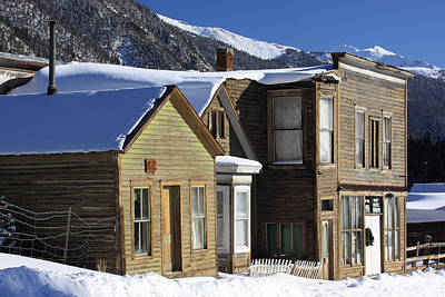 Buena Vista Photograph - St. Elmo Ghost Town by Eric Glaser