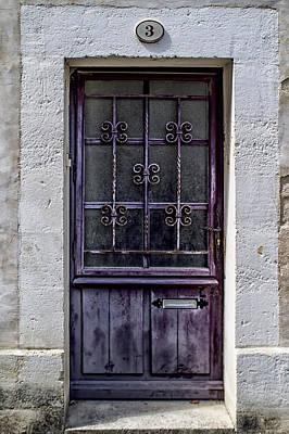 St Emilion Door Art Print