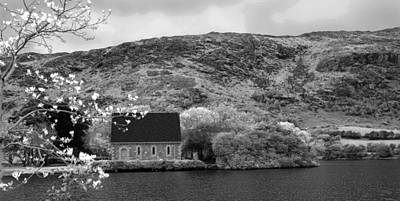 Gougane Barra Church Photograph - St Finbarr's Oratory - Gougane Barra  by Lyle McNamara