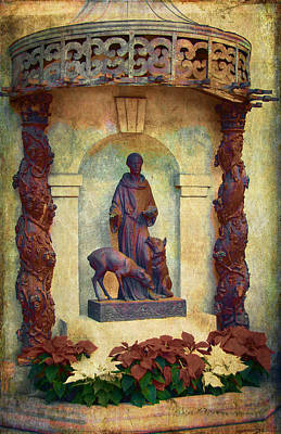 Photograph - St. Francis Assisi by Sandra Selle Rodriguez