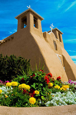 St Francis D'asis Mission Church. Taos New Mexico Original by Jeff Black