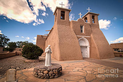 Photograph - St Francis De Asis Taos by Bob and Nancy Kendrick