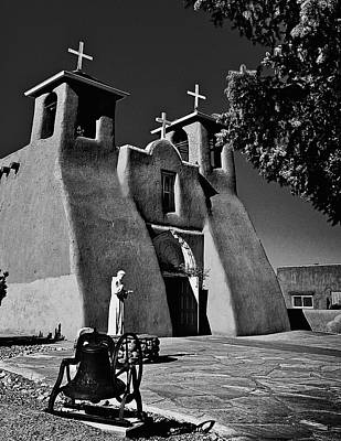 Photograph - St Francis In Black And White by Charles Muhle