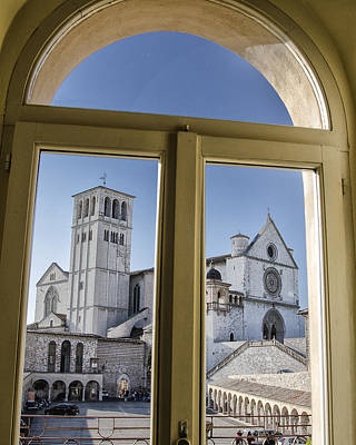 St. Francis Of Assisi Photograph - Basilica Of St Francis - Assisi Italy by Jon Berghoff