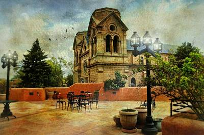 Assisi Church Photograph - St. Francis Of Assisi Santa Fe by Diana Angstadt