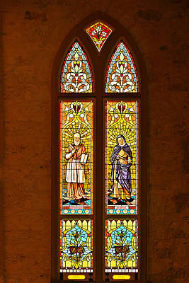 Monica Photograph - St Francis Of Sales And St Monica by Christine Till