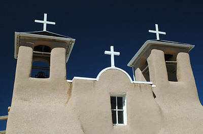 Photograph - St. Francis Taos by Michael Kirk