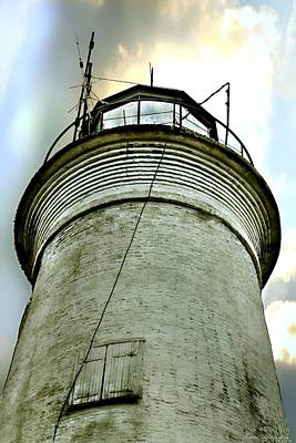 Photograph - St. George Island Lighthouse 2 by Debra Forand
