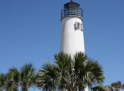 Photograph - St. George Island Lighthouse by Debra Forand