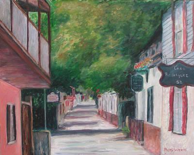 St. Augustine Florida Painting - St George Street IIi by Patty Weeks