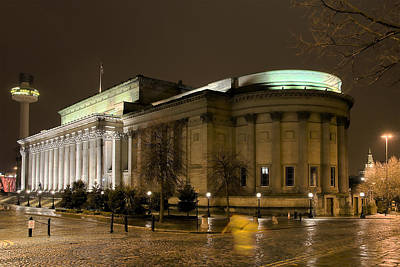 Liverpool Photograph - St Georges Hall Liverpool by Jeff Dalton