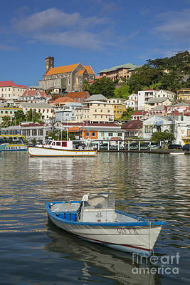 Photograph - St Georges Harbor - Grenada by Brian Jannsen