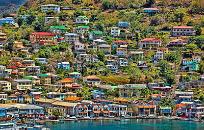 Photograph - St. Georges Harbor Grenada by Don Schwartz