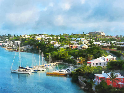 Photograph - St. Georges Harbour Bermuda by Susan Savad