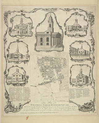 St. George's Parish Art Print by British Library