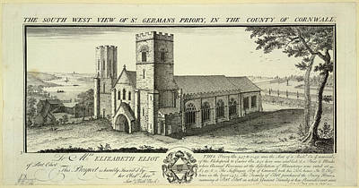 Sw Photograph - St. Germans Priory by British Library
