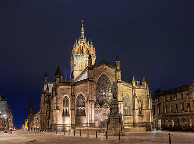 Photograph - St. Giles Cathedral by Brian Grzelewski