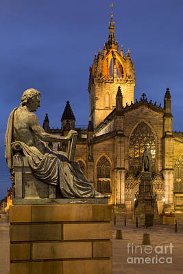 Royal Mile Photograph - St Giles Cathedral Edinburgh by Brian Jannsen