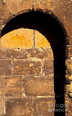 Photograph - St Giles Church Arch by Rick Piper Photography
