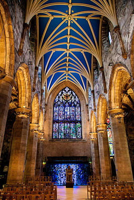 Photograph - St. Giles Entrance by Brian Grzelewski