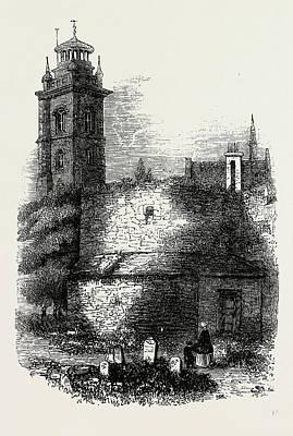 St. Giless, Cripplegate Art Print