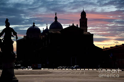 Photograph - St Giustina Sunset Padua by Brenda Kean