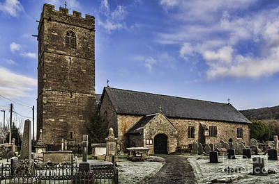 Photograph - St Gwendolines Church Talgarth 3 by Steve Purnell