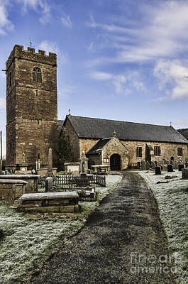 Photograph - St Gwendolines Church Talgarth 4 by Steve Purnell