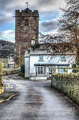 St Gwendolines Church Talgarth Art Print