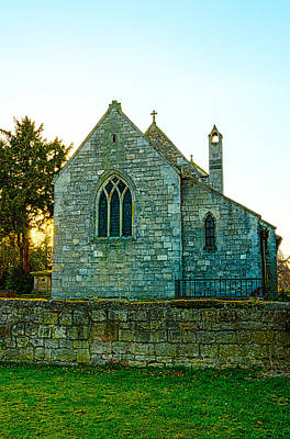 Photograph - St. Helena's - Austerfield by Nick Field