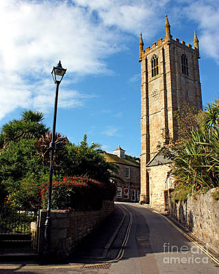 Photograph - St Ia St Ives Parish Church Cornwall  by Terri Waters