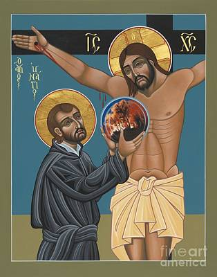 21st Painting - St. Ignatius And The Passion Of The World In The 21st Century 194 by William Hart McNichols