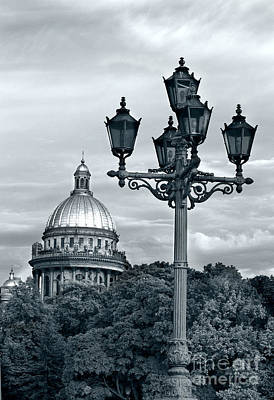 St Isaac Cathedral Art Print