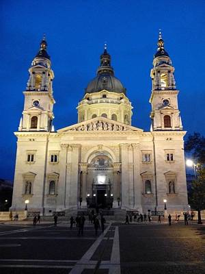Photograph - St Istvan Cathedral In Budapest by Eliza Donovan