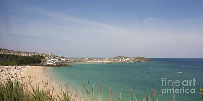 Photograph - St Ives From The Train by Terri Waters