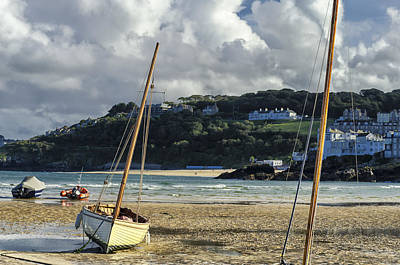 St Ives Wall Art - Photograph - St. Ives Harbor by Joseph S Giacalone