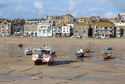 Photograph - St Ives Harbour by Paula Guy